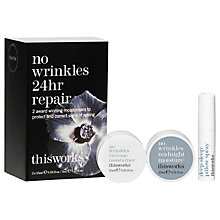 Buy This Works No Wrinkles 24 Hour Skincare Starter Kit Online at johnlewis.com