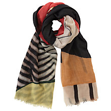 Buy Becksondergaard Garnier Printed Wool Scarf, Multi Online at johnlewis.com