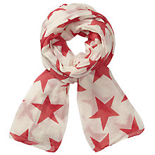 Buy Becksondergaard Fine Twilight Scarf, Calypso Coral Online at johnlewis.com