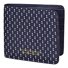 Buy Scotch & Soda Polka Dot Leather Wallet, Navy/White Online at johnlewis.com