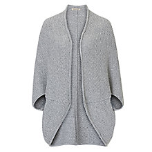 Buy Betty Barclay Batwing Cardigan, Light Grey Melange Online at johnlewis.com