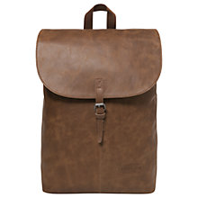 Buy Eastpak Ciera Leather Backpack, Brownie Online at johnlewis.com