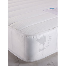 Buy little home at John Lewis 15cm Deep Open Spring Water Resistant Mattress, Single Online at johnlewis.com