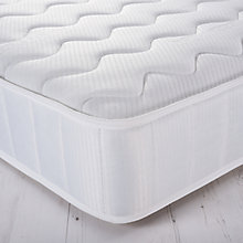 Buy John Lewis Essentials Collection Response 920 Comfort Open Spring Mattress, Medium, Single Online at johnlewis.com