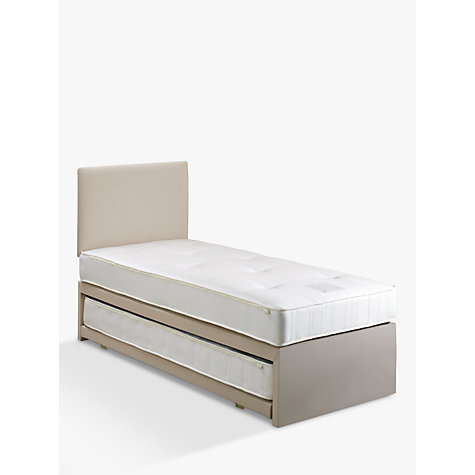 Buy John Lewis Savoy Two Open Spring Trundle Guest Bed,  Single Online at johnlewis.com