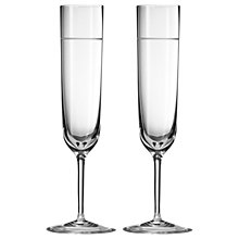 Buy Vera Wang for Wedgwood Bande Flute, Set of 2 Online at johnlewis.com