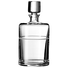 Buy Vera Wang for Wedgwood Bande Spirit Decanter Online at johnlewis.com