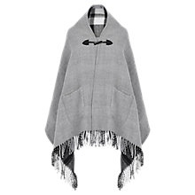 Buy Oasis Reversible Fringed Wrap, Multi Online at johnlewis.com