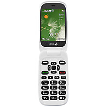 "Buy Vodafone Doro 6520 Smartphone, Android, 2.8"", Pay As You Go (£10 Top Up Included), 75MB Online at johnlewis.com"