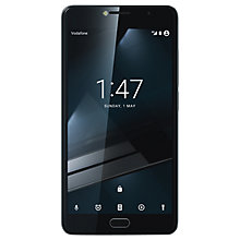 "Buy Vodafone Smart Ultra 7 Smartphone, Android, 5.5"", Pay As You Go (£10 Top Up Included), 16GB, Dark Grey Online at johnlewis.com"