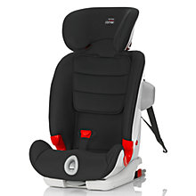 Buy Britax Advansafix III Sict Group 1,2,3 Car Seat, Black Online at johnlewis.com