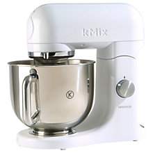 Buy Kenwood KMX50W kMix Stand Mixer, Stainless Steel Bowl, White Online at johnlewis.com