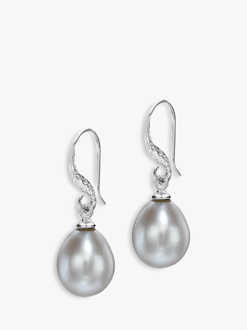Dower & Hall Dower & Hall Baroque Pearl Drop Earrings