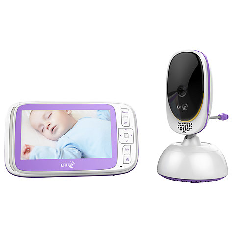 buy bt video baby monitor 6000 john lewis. Black Bedroom Furniture Sets. Home Design Ideas
