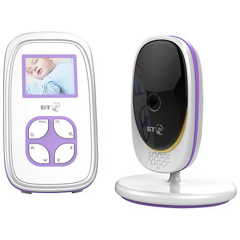 buy bt video baby monitor 2000 john lewis. Black Bedroom Furniture Sets. Home Design Ideas