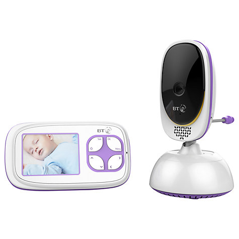 buy bt video baby monitor 5000 john lewis. Black Bedroom Furniture Sets. Home Design Ideas
