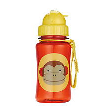 Buy Skip Hop Zoo Monkey Straw Bottle Online at johnlewis.com