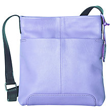 Buy White Stuff Small Issy Cross Body Bag, Heather Online at johnlewis.com