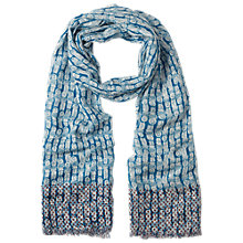 Buy White Stuff Little Inuit Scarf, Winter Blue Online at johnlewis.com