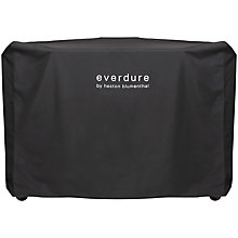 Buy everdure by heston blumenthal HUB™ Electric Ignition Charcoal BBQ Cover, Black Online at johnlewis.com