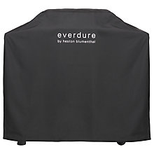 Buy everdure by heston blumenthal FORCE™ 2 Burner Gas BBQ Cover, Black Online at johnlewis.com