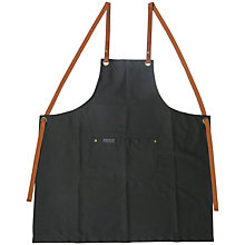 Buy everdure by heston blumenthal Premium Apron, Black Online at johnlewis.com