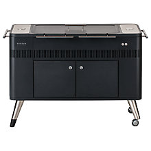 Buy everdure by heston blumenthal HUB™ Electric Ignition Charcoal BBQ, Graphite Online at johnlewis.com