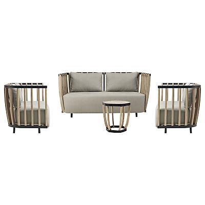 Ethimo Swing 4 Seater Lounge Set, FSC-Certified (Teak), Natural