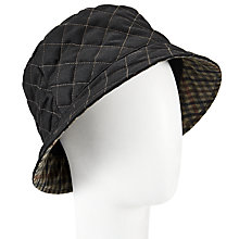 Buy John Lewis Quilted Waxed Bucket Rain Hat Online at johnlewis.com