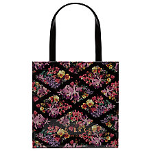 Buy Ted Baker Beticon Lost Gardens Shopper Bag, Black Online at johnlewis.com
