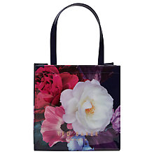 Buy Ted Baker Innacon Small Shopper Bag, Navy Online at johnlewis.com