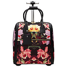 Buy Ted Baker Donnie Lost Gardens Travel Bag, Black Online at johnlewis.com