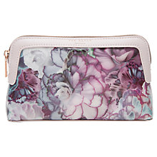 Buy Ted Baker Florisa Illuminated Bloom Makeup Bag, Purple Online at johnlewis.com