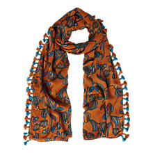 Buy White Stuff Artichoke Spring Scarf, Marmalade Online at johnlewis.com