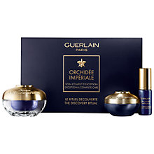 Buy Guerlain Orchidée Impériale The Discovery Ritual Skincare Gift Set Online at johnlewis.com