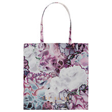 Buy Ted Baker Lumicon Illuminated Bloom Large Shopper Bag, Purple Online at johnlewis.com