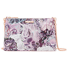Buy Ted Baker Jazzi Chain Across Body Bag, Purple/Multi Online at johnlewis.com