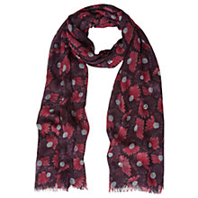 Buy White Stuff Sparkle Spot Scarf, Purple Online at johnlewis.com