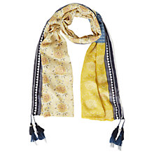 Buy White Stuff Saffron Patchwork Scarf, Multi Online at johnlewis.com