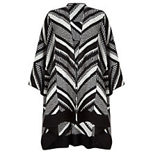 Buy Miss Selfridge Aztec Cape, Black Online at johnlewis.com