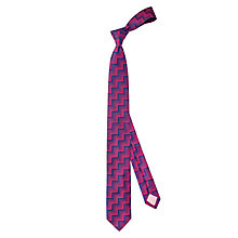 Buy Thomas Pink Wylie Geo Skinny Silk Tie Online at johnlewis.com