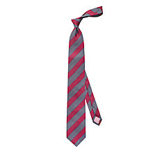 Buy Thomas Pink Sandby Stripe Woven Silk Tie Online at johnlewis.com