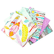 Buy Craft Cotton Co. Printed Fat Quarter Fabric, Pack of 6, Multi Online at johnlewis.com