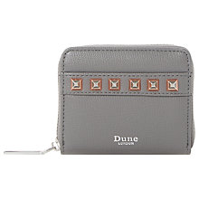 Buy Dune Kookie Small Stud Zip Around Purse Online at johnlewis.com