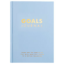 Buy kikki.K Goals Journal, Blue Online at johnlewis.com