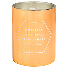 Buy kikki.K Inspiration Scented Candle Online at johnlewis.com