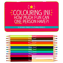 Buy Happy Jackson 'Colouring In!' Coloured Pencils, Set of 12 Online at johnlewis.com
