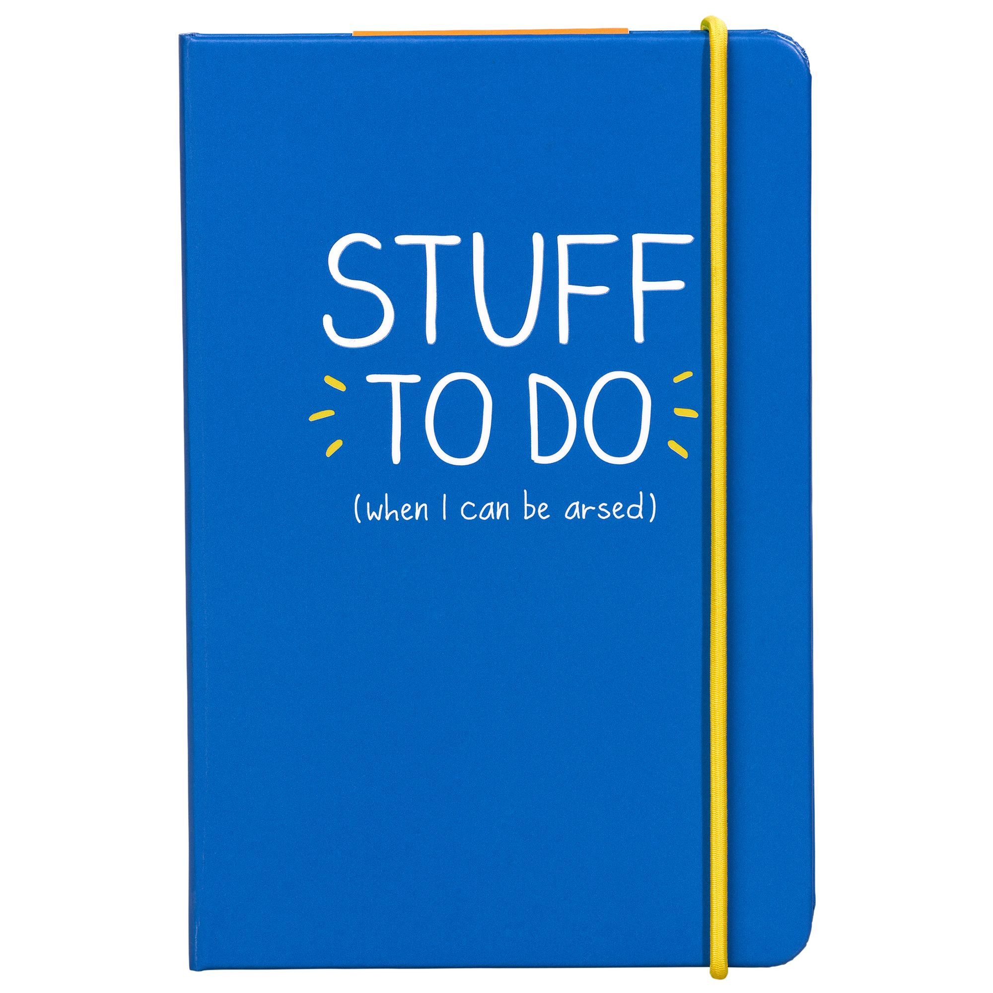 Happy Jackson Happy Jackson A6 'Stuff To Do' Notebook, Blue