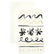 Buy kate spade new york Daisy Doodle Notepad, Small Online at johnlewis.com