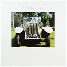 Buy Mint Wedding Day Greeting Card Online at johnlewis.com